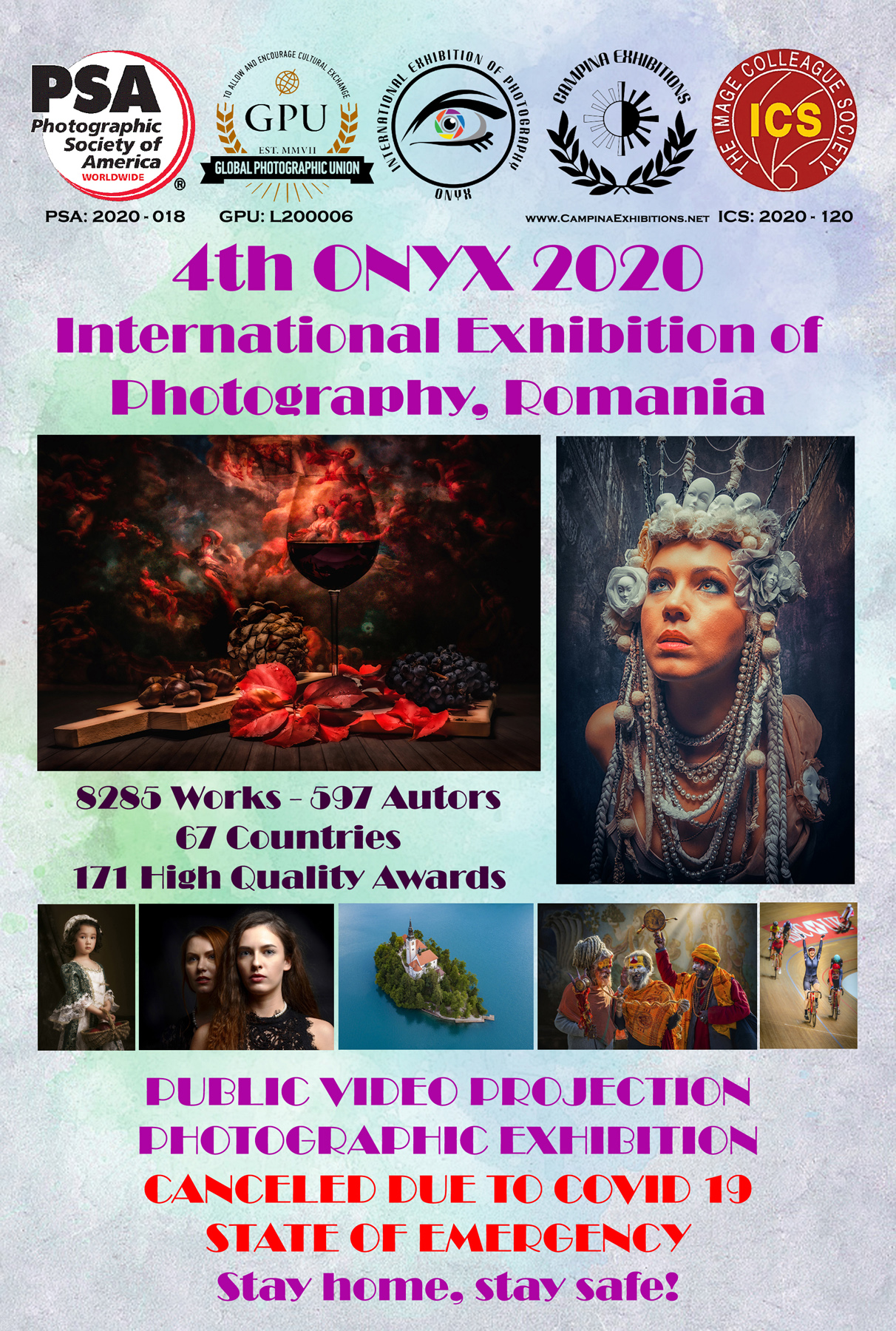 4th ONYX 2020 Awards Ceremony, Public Projection and Print Exhibition!